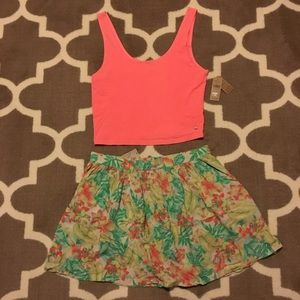 AE Floral Outfit